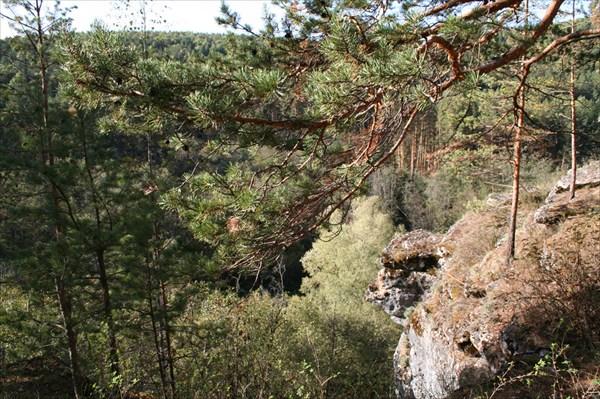Виды. Серпиеевский пещерный град