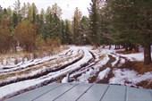 Дорога на Мультинские озера