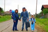 Начало пути в д. Бекленищево