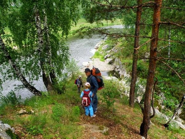 Пересыхающее русло ручья Смолянка