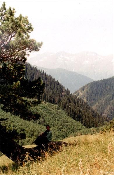 Пейзаж заброски на Загедан