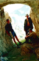 Грот на перевале Кырт-Хуа