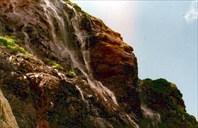 Водопад с загеданского озера