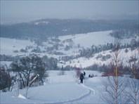Спуск в пос. Ивановка