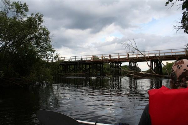 Автомобильный мост в Заводской Слободе