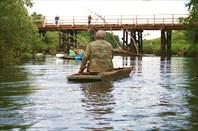Посудина - натуральное корыто (у моста в дер.Заводская Слобода)
