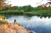 Сплав по реке Пра на байдарках. Маршрут: Спас-Клепики - Деулино.