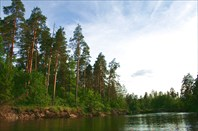 Вид с реки №2
