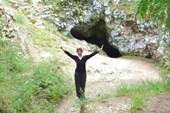 Я у Сугомакской пещеры