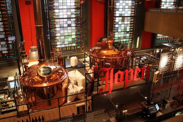 на фото: Пивоварня Jopen Bier Jopenkerk