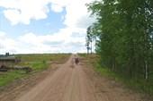 Танковый полигон. Начало 15 км участка