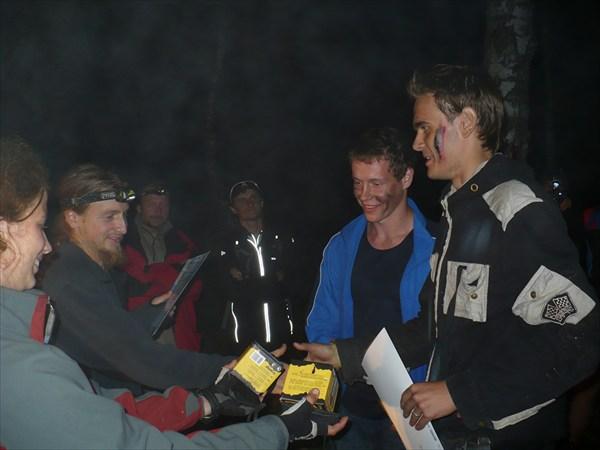 на фото: Электростальская Клязьма 2009 - Лемминги