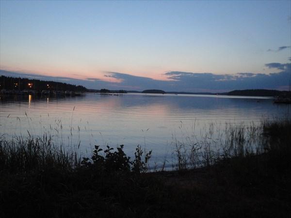 на фото: Озеро Сайма