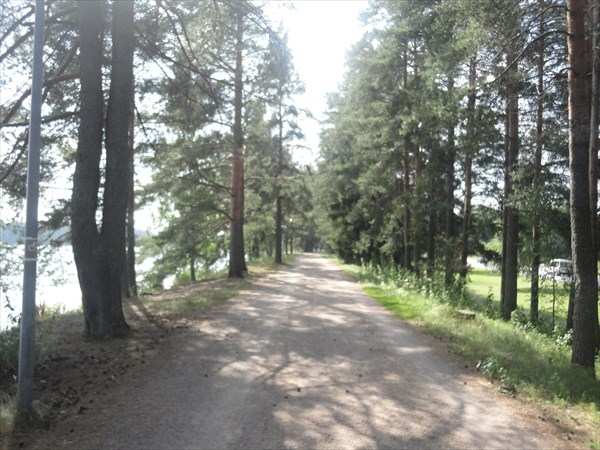 Уютные дорожки Иматры