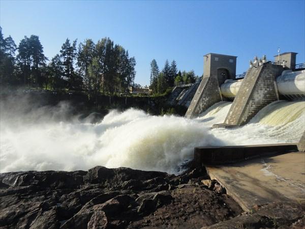 Водопад в Иматре