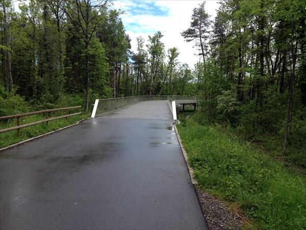Велосипедный мост.