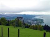 Вид на Боденское озеро.