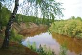 Река Тара. Яр