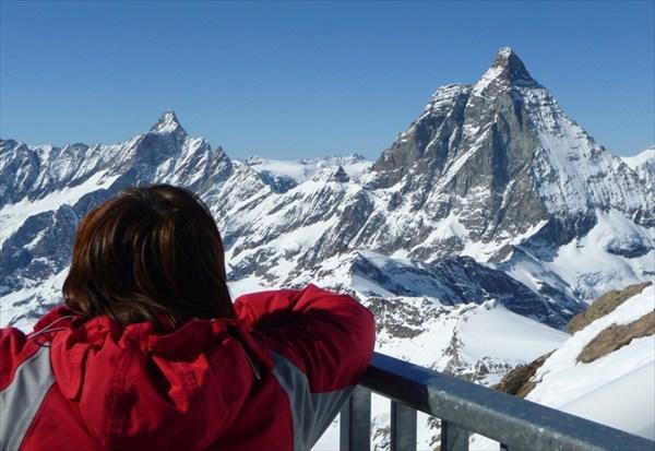 Это не менее знаменитая гора «Монте Роза»