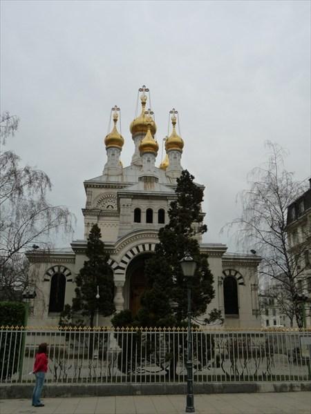 Женева. Русская православная церковь