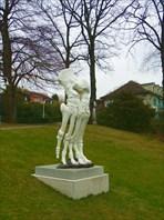 Парк перед Олимпийским музеем