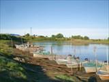 Лодочная станция на реке Парабель
