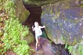 Там пещера !!!