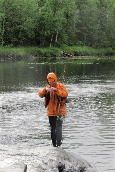Рыбалка после порога Сосновый.