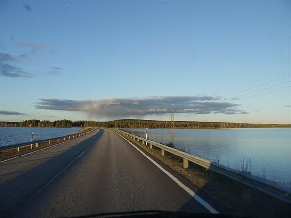 По дороге на север Финляндии