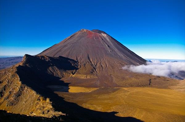 на фото: национальный парк Тонгариро