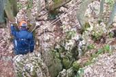 Надземная часть пещеры Молодежная