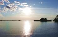 Белое озеро, исток Шексны