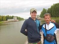 Паром через канал им.Москвы