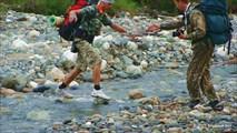А речка то называется Сухая.