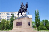 Памятник оренбургскому казачеству