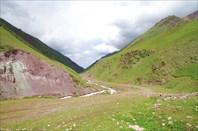 800 километров Киргизии