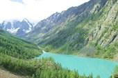 Озеро н.Шавлинское со стороны перевала