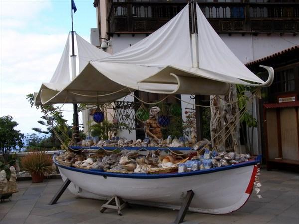 Сувенирная лодка