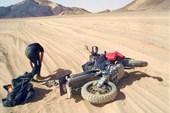 Авария в пустыне