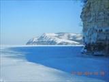 Вид на Молодецкий курган из-за горы Лепёшка