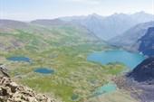 Долина Алла-Аскыр с Сурового