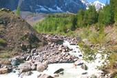 Верховье реки Актру