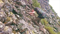 Вверх от озер на отроги Кряжа Зверева