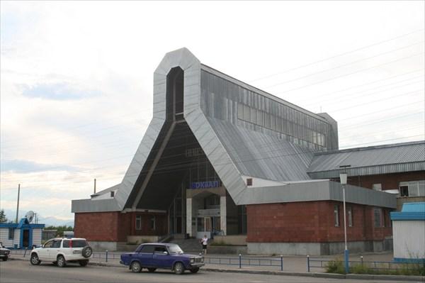 Ж/д вокзал в пос.Новая Чара