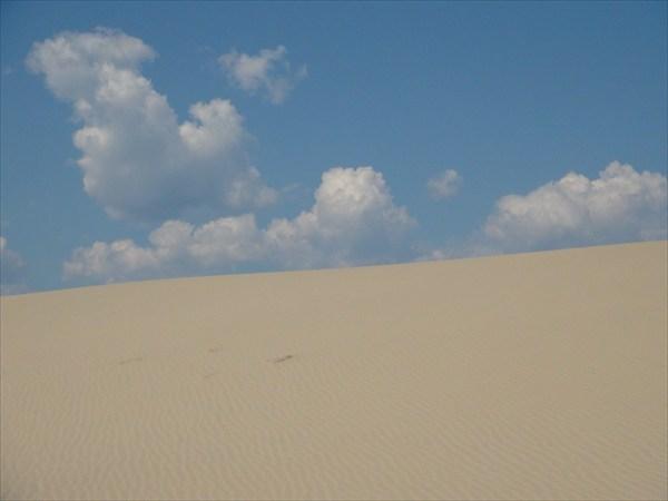 На грани песка и неба