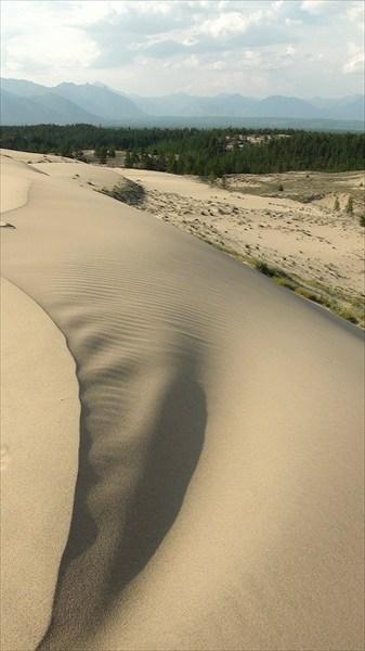 Пустыня в движении 4 (обманчивая мягкость формы)