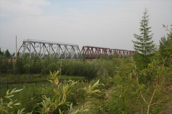 Ж/д мост через р.Чара