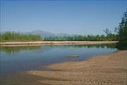 В этом месте решили бродить реку Средний Сакукан