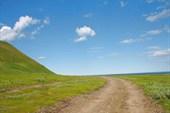 Дорога вокруг  Кильдина
