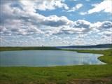Озеро Могильное на острове Кильдин